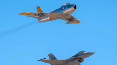 Photo ID 233976 by W.A.Kazior. Private Planes of Fame Air Museum North American F 86F Sabre, NX186AM