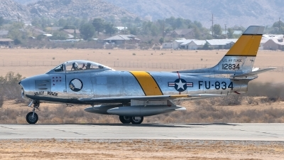 Photo ID 234004 by W.A.Kazior. Private Planes of Fame Air Museum North American F 86F Sabre, NX186AM