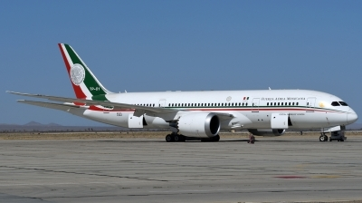 Photo ID 234027 by Hans-Werner Klein. Mexico Air Force Boeing 787 8 Dreamliner, TP 01