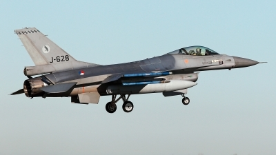 Photo ID 234077 by Carl Brent. Netherlands Air Force General Dynamics F 16AM Fighting Falcon, J 628