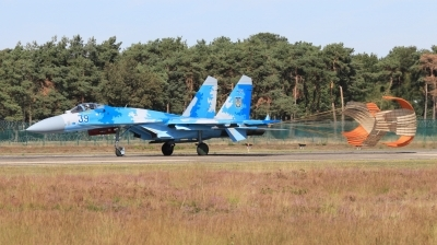 Photo ID 234070 by Milos Ruza. Ukraine Air Force Sukhoi Su 27S, 39 BLUE