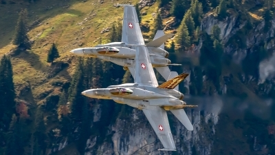 Photo ID 234347 by Martin Thoeni - Powerplanes. Switzerland Air Force McDonnell Douglas F A 18C Hornet, J 5011