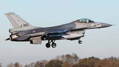 Photo ID 234151 by Carl Brent. Netherlands Air Force General Dynamics F 16AM Fighting Falcon, J 362
