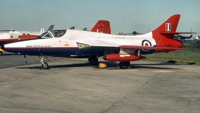 Photo ID 234162 by Aldo Bidini. UK ETPS Hawker Hunter T7, XL564