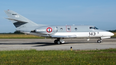 Photo ID 234134 by Aldo Bidini. France Navy Dassault Falcon 10MER, 143