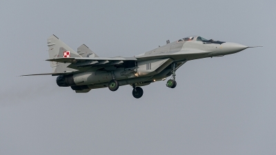 Photo ID 234246 by Jan Eenling. Poland Air Force Mikoyan Gurevich MiG 29A 9 12A, 111