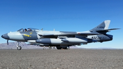 Photo ID 234190 by Jesus Cervantes. Company Owned Airborne Tactical Advantage Company ATAC Hawker Hunter F58, N327AX