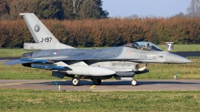 Photo ID 234217 by Mark Broekhans. Netherlands Air Force General Dynamics F 16AM Fighting Falcon, J 197