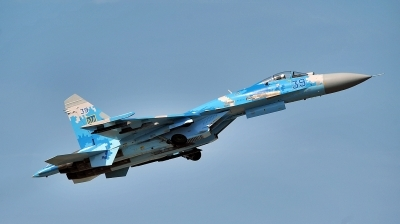 Photo ID 234240 by Alex Staruszkiewicz. Ukraine Air Force Sukhoi Su 27S, 39 BLUE