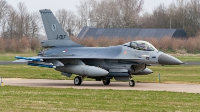 Photo ID 234285 by Jan Eenling. Netherlands Air Force General Dynamics F 16AM Fighting Falcon, J 017