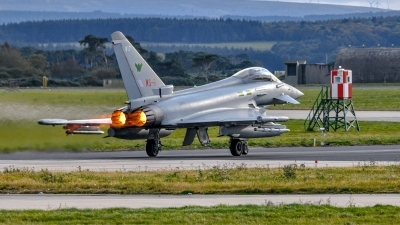 Photo ID 234314 by Al Paterson. UK Air Force Eurofighter Typhoon FGR4, ZJ917