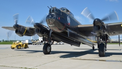 Photo ID 234304 by Aldo Bidini. Private Canadian Warplane Heritage Museum Avro 683 Lancaster B X, C GVRA