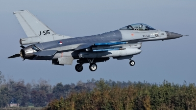 Photo ID 234377 by Rainer Mueller. Netherlands Air Force General Dynamics F 16AM Fighting Falcon, J 515