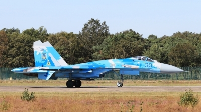Photo ID 234515 by Milos Ruza. Ukraine Air Force Sukhoi Su 27S, 39 BLUE