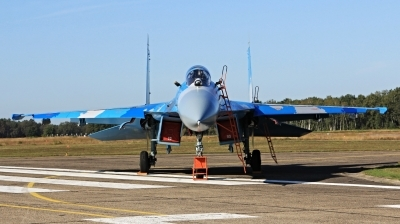 Photo ID 234542 by Milos Ruza. Ukraine Air Force Sukhoi Su 27S, 39 BLUE
