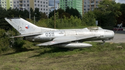 Photo ID 234543 by Joop de Groot. Czechoslovakia Air Force Mikoyan Gurevich MiG 19S, 0511