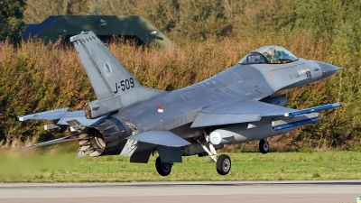 Photo ID 234557 by Dieter Linemann. Netherlands Air Force General Dynamics F 16AM Fighting Falcon, J 509