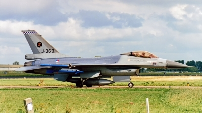 Photo ID 234595 by Jan Eenling. Netherlands Air Force General Dynamics F 16A Fighting Falcon, J 363
