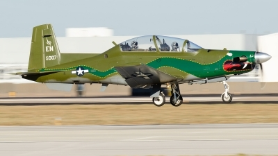 Photo ID 234628 by Brandon Thetford. USA Air Force Raytheon T 6A Texan II, 95 3007