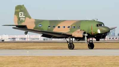 Photo ID 234643 by Brandon Thetford. Private American Flight Museum Douglas C 47D Skytrain DC 3A 467, N2805J