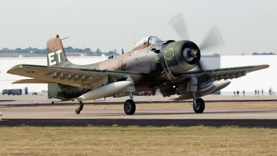 Photo ID 234644 by Brandon Thetford. Private Warbird Aircraft LLC Douglas A 1H Skyraider AD 6, N39606