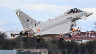 Photo ID 234615 by Ruben Galindo. Spain Air Force Eurofighter C 16 Typhoon EF 2000S, C 16 20