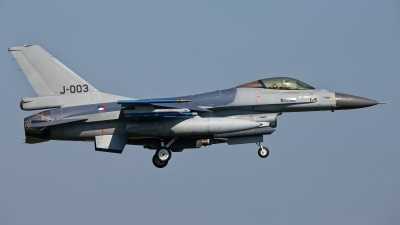 Photo ID 234703 by Rainer Mueller. Netherlands Air Force General Dynamics F 16AM Fighting Falcon, J 003