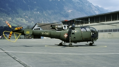 Photo ID 234729 by Joop de Groot. Switzerland Air Force Aerospatiale SA 316B Alouette III, V 281