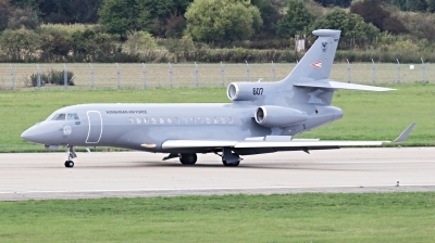 Photo ID 234789 by Milos Ruza. Hungary Air Force Dassault Falcon 7X, 607