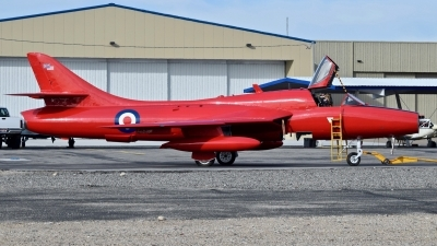 Photo ID 234827 by Gerald Howard. Private Private Hawker Hunter T7, N617NL
