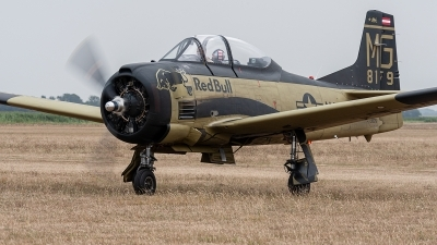 Photo ID 234901 by Jan Eenling. Private Red Bull North American T 28B Trojan, OE ESA