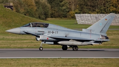 Photo ID 234915 by Rainer Mueller. Germany Air Force Eurofighter EF 2000 Typhoon T, 30 17