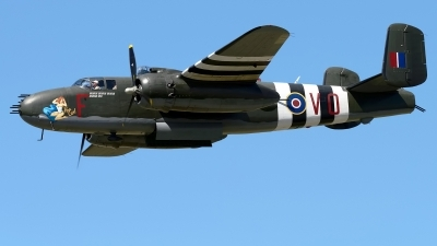 Photo ID 234949 by Rod Dermo. Private Canadian Warplane Heritage Museum North American B 25J Mitchell, C GCWM