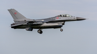 Photo ID 235029 by Jan Eenling. Denmark Air Force General Dynamics F 16AM Fighting Falcon, E 610