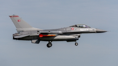 Photo ID 235039 by Jan Eenling. Denmark Air Force General Dynamics F 16AM Fighting Falcon, E 011