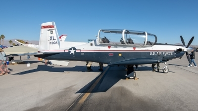 Photo ID 235086 by W.A.Kazior. USA Air Force Raytheon AT 6A Texan II, 05 3804
