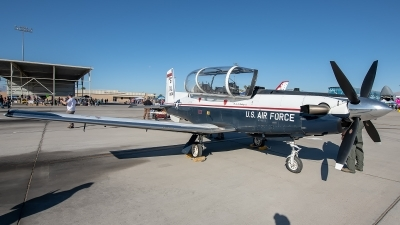 Photo ID 235216 by W.A.Kazior. USA Air Force Raytheon AT 6A Texan II, 05 3804