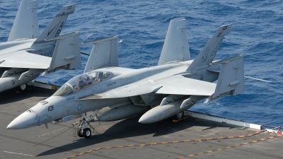 Photo ID 235063 by Klemens Hoevel. USA Navy Boeing F A 18F Super Hornet, 166634