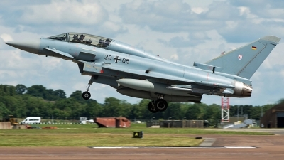 Photo ID 235122 by Aldo Bidini. Germany Air Force Eurofighter EF 2000 Typhoon T, 30 05