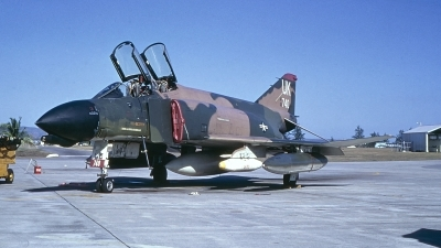 Photo ID 235189 by Gerrit Kok Collection. USA Air Force McDonnell Douglas F 4D Phantom II, 66 8740