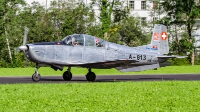 Photo ID 235135 by Agata Maria Weksej. Private P 3 Flyers Pilatus P 3 03, HB RBN