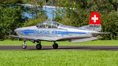 Photo ID 235138 by Agata Maria Weksej. Private P 3 Flyers Pilatus P 3 05, HB RBP