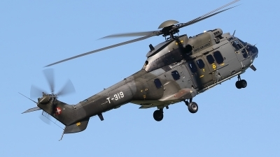 Photo ID 235177 by Ludwig Isch. Switzerland Air Force Aerospatiale AS 332M1 Super Puma, T 319