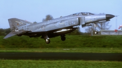 Photo ID 235219 by Rainer Mueller. Germany Air Force McDonnell Douglas F 4F Phantom II, 37 35