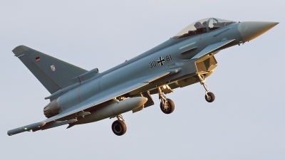 Photo ID 235220 by Mick Balter - mbaviation-images. Germany Air Force Eurofighter EF 2000 Typhoon S, 30 81