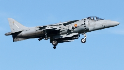 Photo ID 235269 by Manuel Fernandez. Spain Navy McDonnell Douglas EAV 8B Harrier II, VA 1B 29