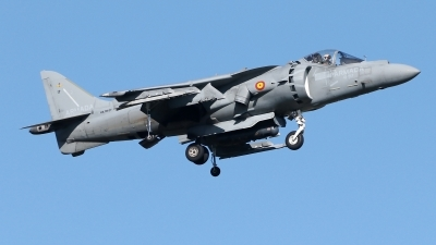 Photo ID 235280 by Manuel Fernandez. Spain Navy McDonnell Douglas EAV 8B Harrier II, VA 1B 27
