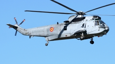 Photo ID 235281 by Manuel Fernandez. Spain Navy Sikorsky SH 3H Sea King S 61B, HS 9 15