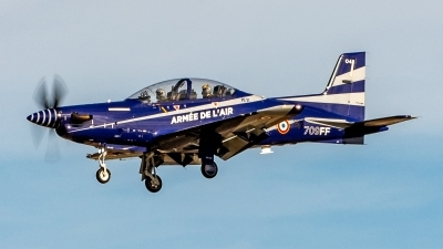 Photo ID 235285 by Ian Lane. France Air Force Pilatus PC 21, 04