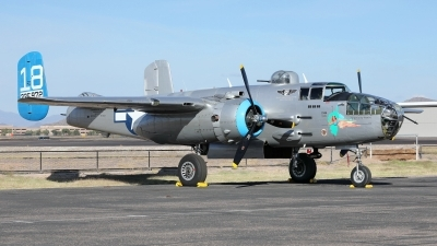 Photo ID 235273 by Sybille Petersen. Private Commemorative Air Force North American B 25J Mitchell, N125AZ